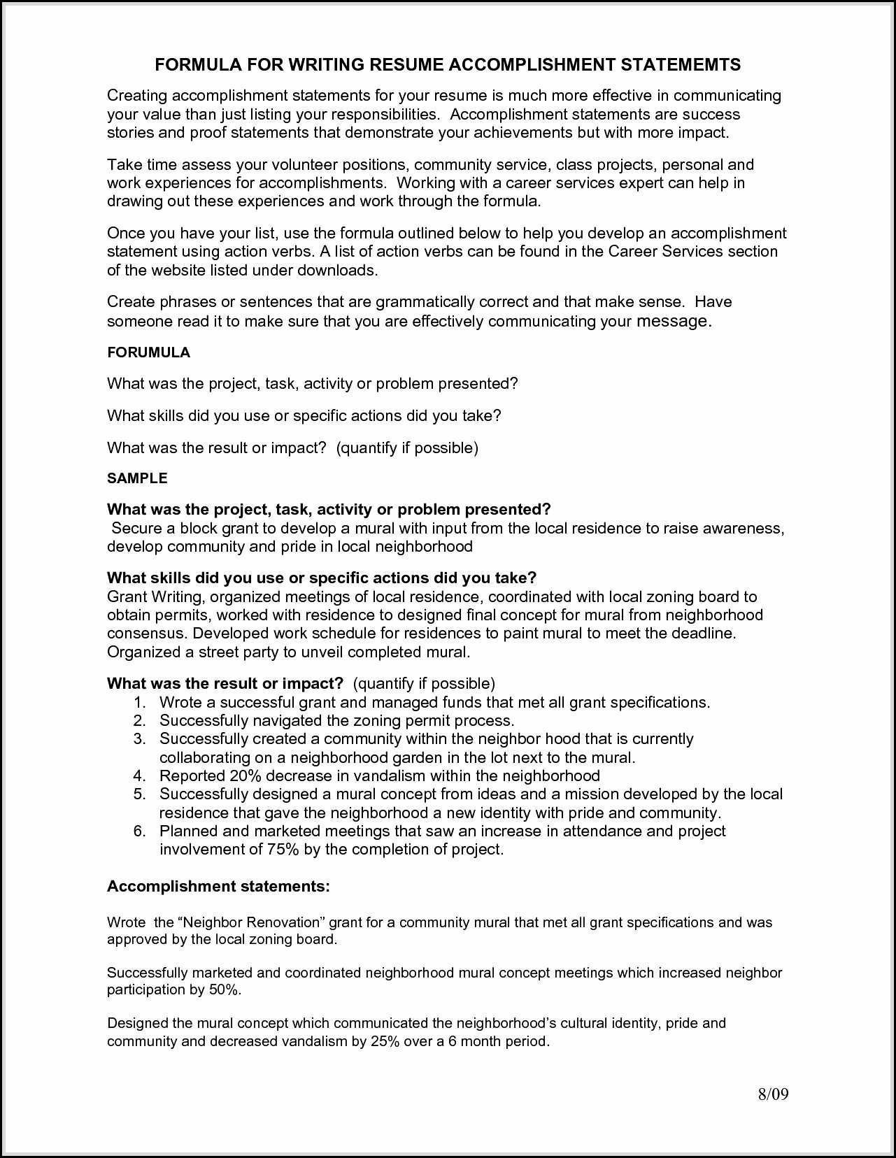 accomplishment statements resume Collection-Ac plishment Statements Resume Inspirational Beautiful Resume Examples with Ac Plishment Statements 5-h