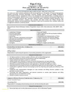 Account Payable Resume Template - Part 2 Resume General Simple Creative