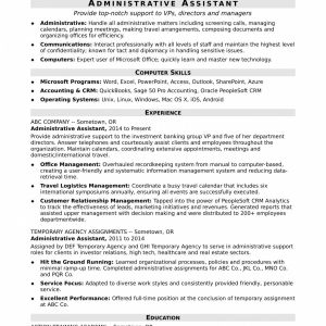 Accounting Resume Template Word - Azure Resume Pretty Resume Template Executive assistant Beautiful