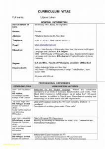Acting Resume Template - Actor Resume Template Save Work Objective for Resume New Actor
