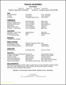 Acting Resume Template Google Docs - Google Docs Acting Resume Template Resume Templates Actors Resume