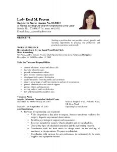 Acting Resume Template No Experience - Application Letter format for Volunteer Nurse order Custom