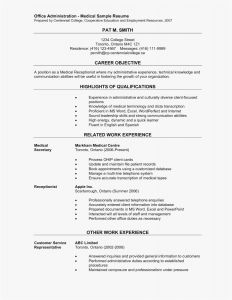 Actors Resume Template Word - Examples Resumes Fresh Resume Examples Pdf Best Resume Pdf 0d
