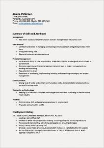 Advertising Resume - Resume with Picture New New Skills for A Resume Fishing Resume 0d