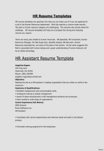 Advertising Resume Template - 20 Fresh Resume Template Professional Free Resume Templates