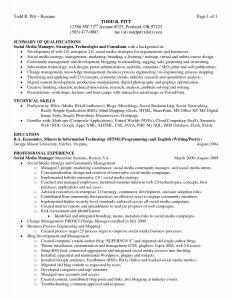 Agriculture Resume - Government Resume Sample Pdf Unique Resume Profile Examples