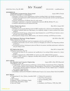 Apprentice Electrician Resume Template - Puter Engineering Career Resume Elegant Apprentice Electrician