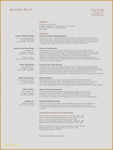 Architect Resume Template - Sample Architect Resume New Sample Architecture Resumes Nanny Resume