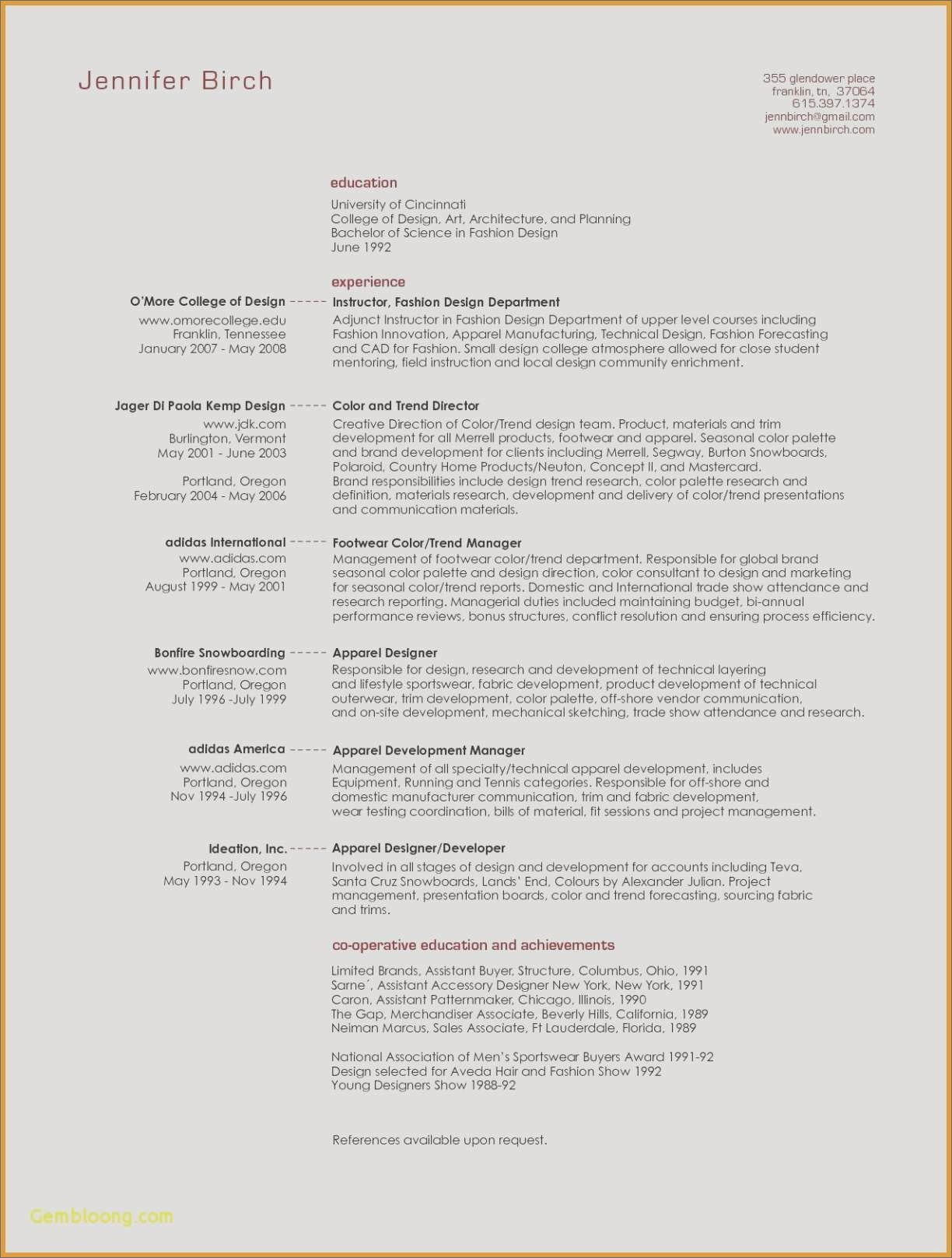 architecture resume Collection-Sample Architect Resume New Sample Architecture Resumes Nanny Resume Sample Nanny Resume 0d 14-l