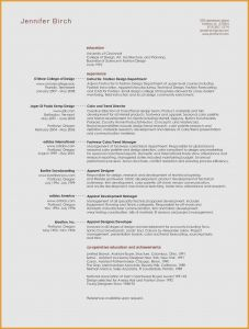Art Resume Template - Performing Arts Resume Template Lovely Performing Arts Resume