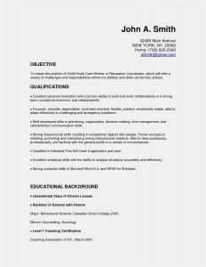 Arts Resume Template - New Artist Resume Template