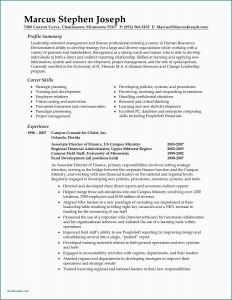 Audition Resume Template - Sample Resume Logistics Management Specialist Resume Professional