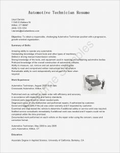Auto Mechanic Skills Resume - Automotive Mechanic Sample Resume