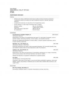 Auto Tech Resume - Favorite Entry Level Automotive Technician Resume Vcuregistry