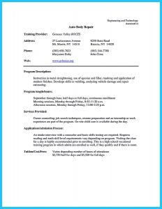 Auto Tech Resume - Auto Tech Resume Free 27 Positive Automotive Technician Resume