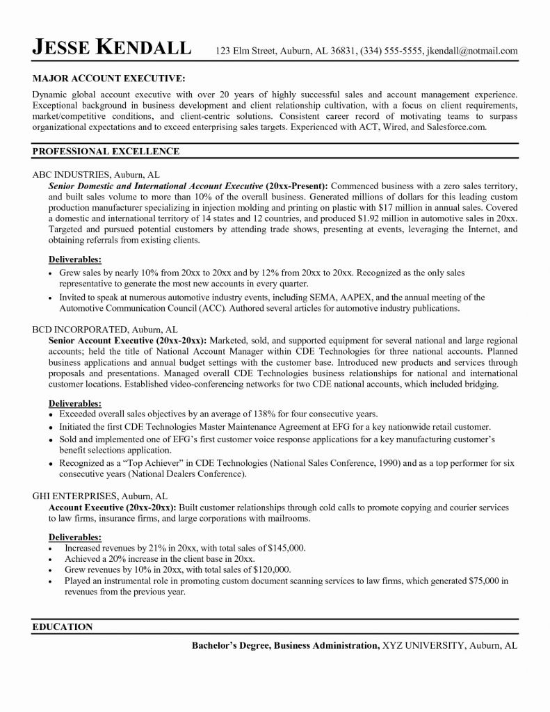 automotive industry resume example-Restaurant Resume Sample Modest Resume Examples 0d Good Looking 1-n