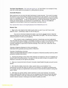 Automotive Skills for Resume - 75 Elegant S Emt Resume Skills Examples