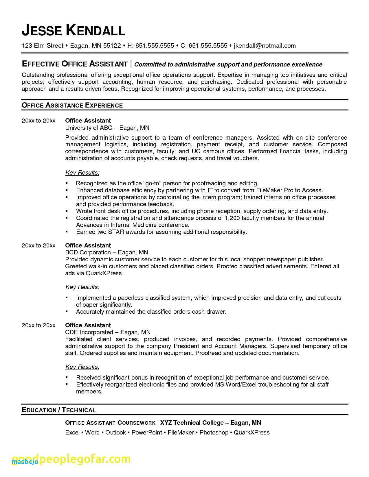 autotrader jobs resume Collection-Administrative assistant Resume Lovely Admin assistant Resume 10 Best Best Executive assistant Resume 3-p