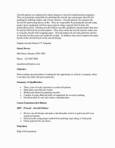 Aviation Resume Template - Resume Examples for Nanny Position Save Nanny Resume Sample Elegant