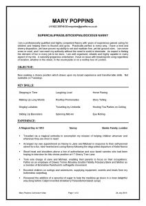 Babysitters Resume Template - Nanny Resume Examples Luxury Beautiful Nanny Duties Resume Fresh