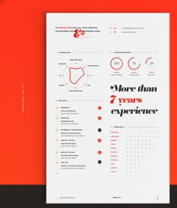 Behance Resume Template - My New Resume Cv On Behance Resume Pinterest