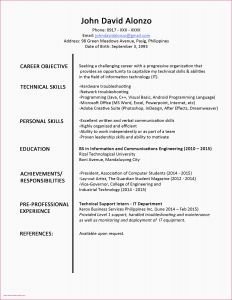 Business Administration Resume - Resume for Fresh Graduate Business Administration Fresh Unique
