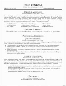Business Administration Resume Template - 43 Inspirational Quick Resume Template