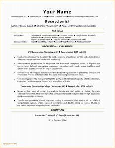 Business Resume - Business format Beautiful Resume Header Examples Beautiful Writers