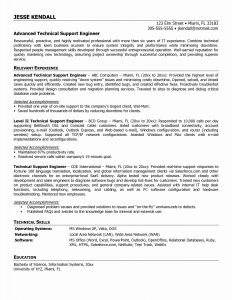 Cable Technician Resume - Desktop Support Job Description New Desktop Support Technician