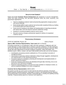 Call Center Resume Template - 35 Best Call Center Resume Skills