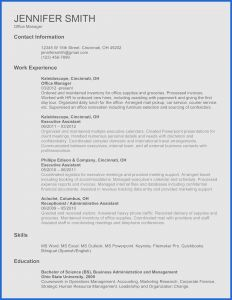 Car Jobs Resume - Hire Car Job Resume Lovely Resume No Experience Sample Resume