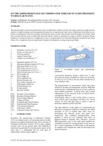 Car Submerged In Water Resume - Pdf the Added Resistance Of Underwater Vehicles In Close