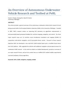 Car Submerged In Water Resume - Pdf An Overview Of Autonomous Underwater Vehicle Research and