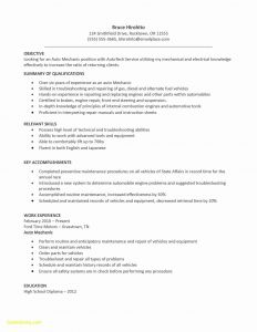Car Tech Resume - Hvac Resume Samples Awesome 25 Awesome Entry Level Hvac Technician