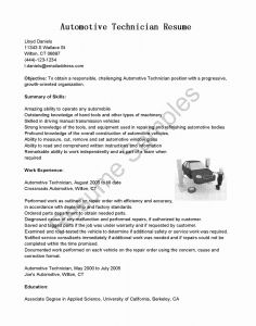 Car Technician Resume - 49 Pharmacy Technician Resume Skills
