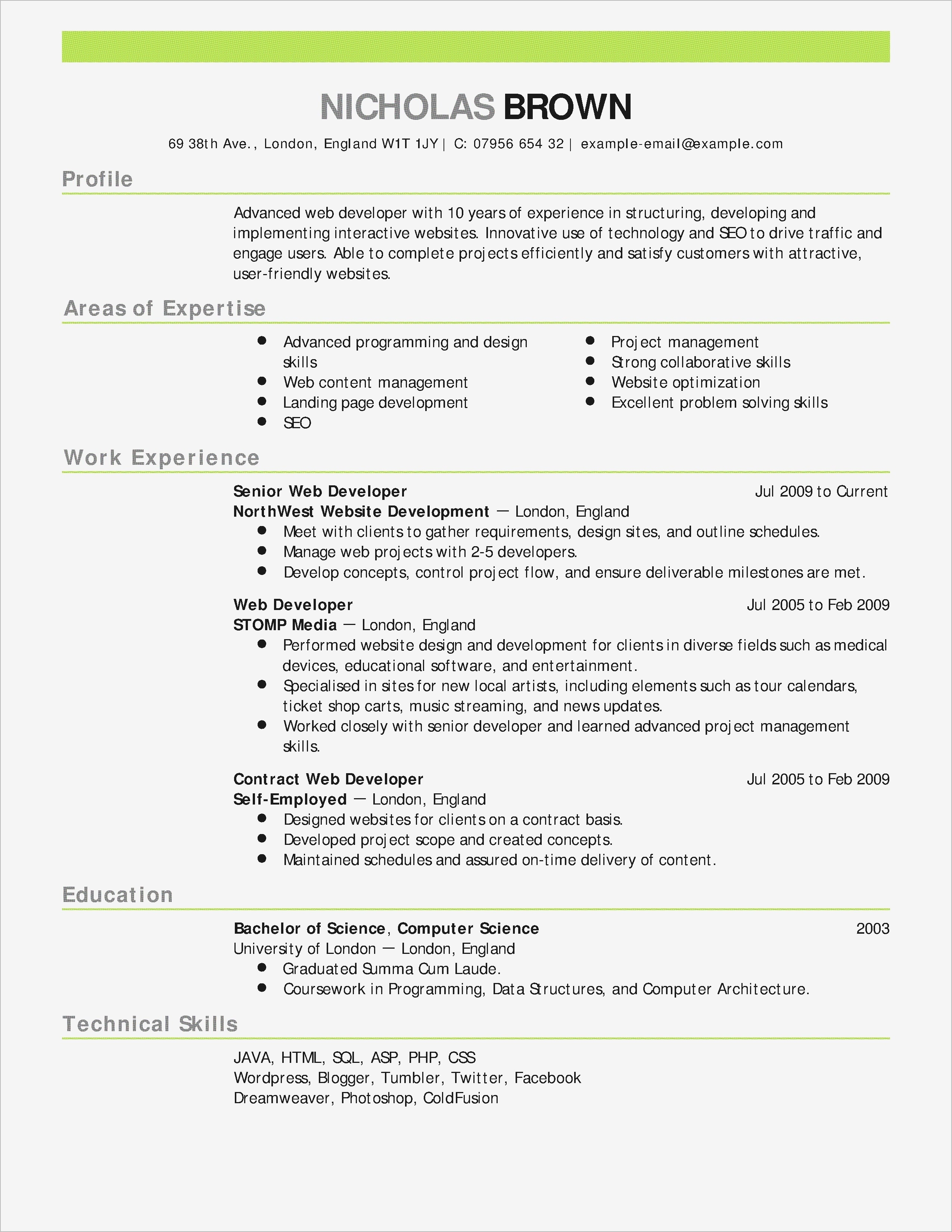 cfo resume template example-Letter Stencils for Painting Lovely Cfo Resume Template Inspirational Actor Resumes 0d – Letter Templates 7-g