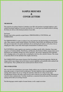 Chemist Resume - 20 New Elements A Cover Letter Professional