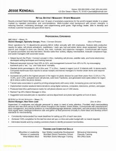 Chief Financial Officer Resume Template - Promotions Resume Sample Save 32 Fresh Sample Manager Resume Resume