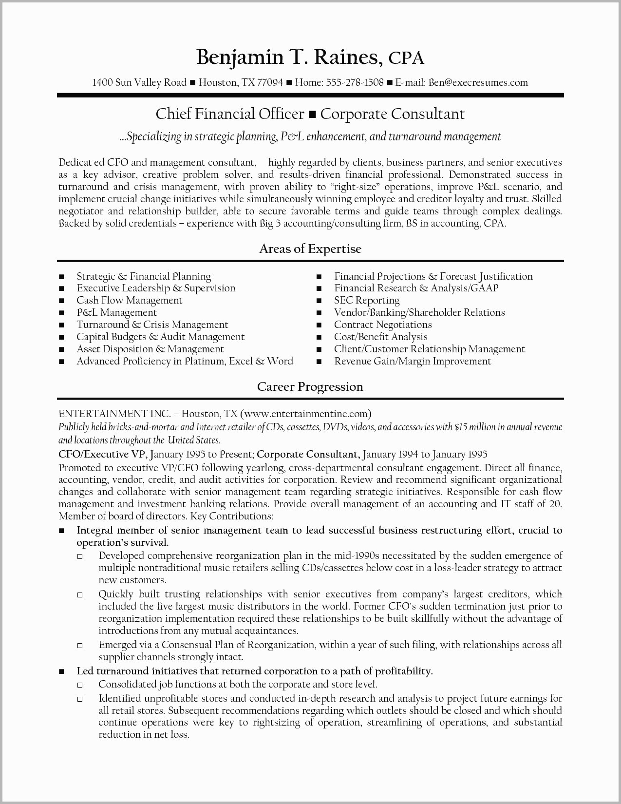 chief financial officer resume template Collection-Finance Manager Resume Save Finance Director Resume Examples Cfo Resume Template Inspirational 14-k