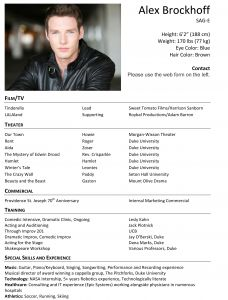 Child Acting Resume Template - Child Acting Resume Sample Fresh Child Actor Resume Awesome Child