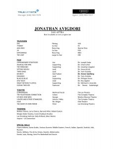 Child Acting Resume Template No Experience - 16 How to Make A theatre Resume