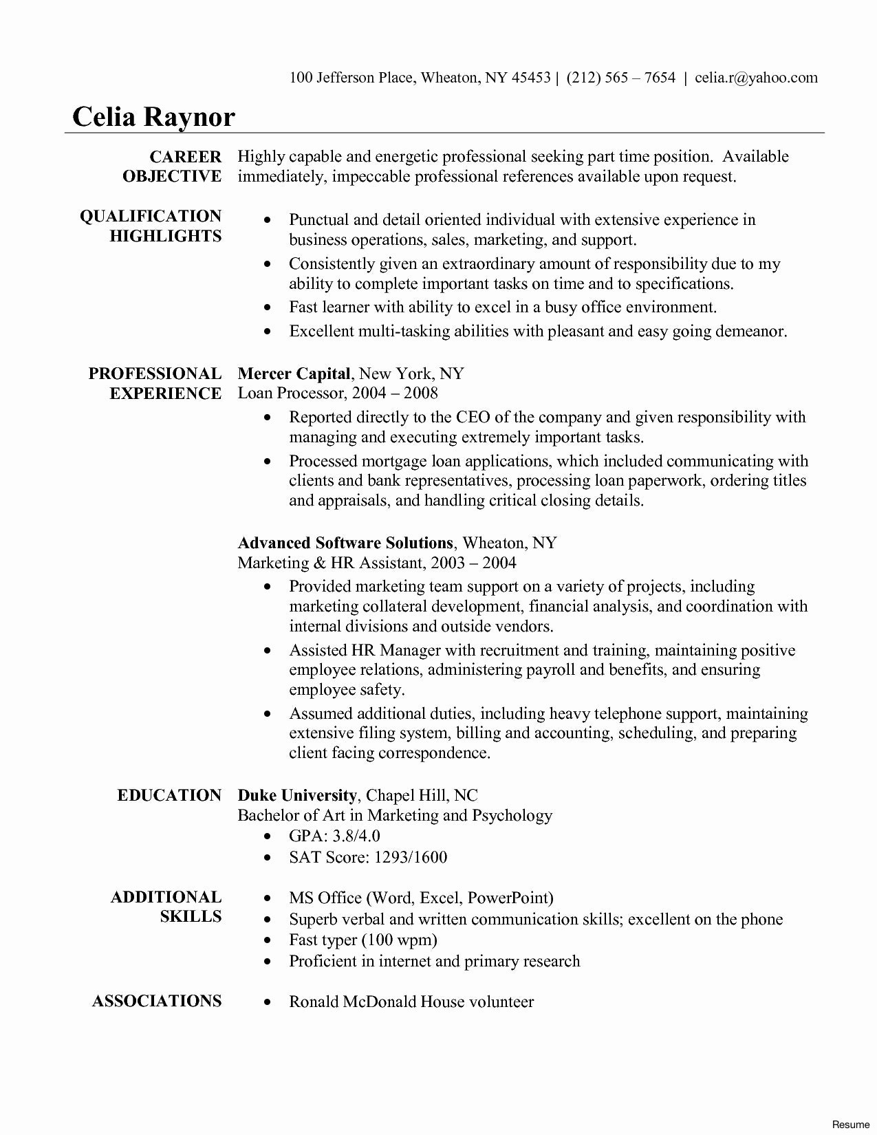 chronological order resume template Collection-Individual Development Unique Law Student Resume Template Best Resume Examples 0d 19-g