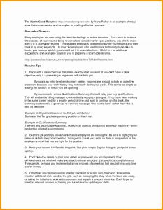 Cio Resume Template - Resume Samples for Food Service Inspirational Food Service Skills