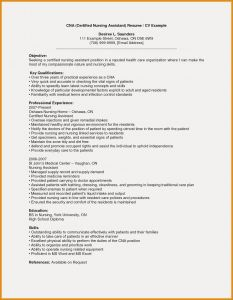 Cna Resume Template Microsoft Word - Certified Nursing assistant Resume Fresh Cna Resume Examples with