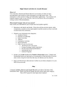 College Freshman Resume Template - Freshman College Resume New College Application Resume Examples Best