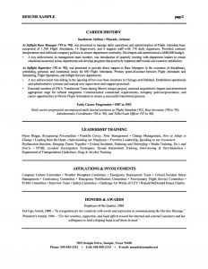 Combination Resume Template - Resume Cover Letter