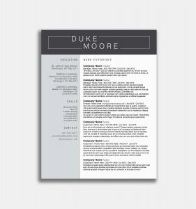 Company Resume - Types Resume Example How to Type Resume Best New Entry Level