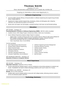 Computer Engineering Resume - 25 Best Puter Science Resume