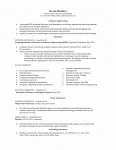 Computer Engineering Resume - Senior Developer Resume Sample Awesome software Engineer Resume