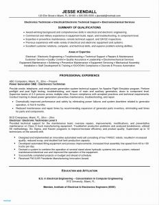 Computer Engineering Resume Template - Puter Engineering Resume Beautiful 18 Puter Science Resume